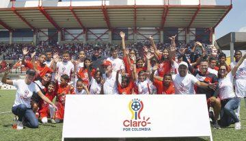 Copa Claro por Colombia, una iniciativa de integración