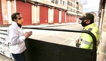 Así fue el primer día de cuarentena obligatoria en Bogotá