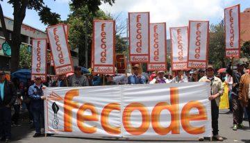 Fecode anuncia jornada de desobediencia civil en rechazo al modelo de alternancia