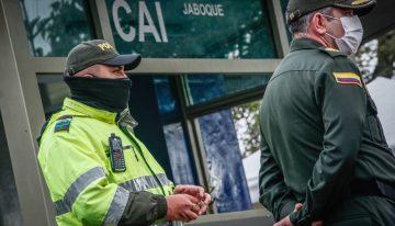 Con CAI móviles, Bogotá reforzará la seguridad en barrios afectados por disturbios