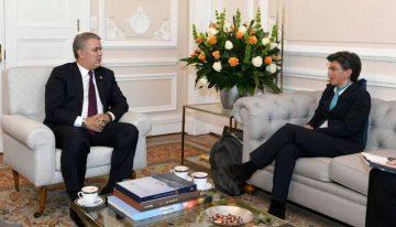 Claudia López le pide más plata al Gobierno a pesar de su tensa relación con Duque