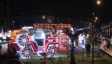 Prográmese para los alumbrados navideños en Medellín
