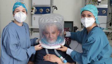 Con hospitales de campaña y cascos, Bogotá enfrenta aumento de ocupación UCI