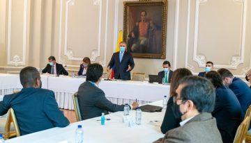 Sin acuerdos terminó la reunión entre Comité del paro y el Gobierno Nacional